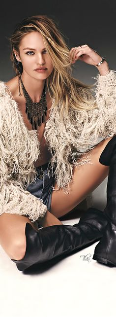 ~Candice Swanepoel for Free People | House of Beccaria