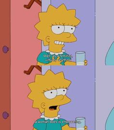 You openly identify as a feminist (cue Beyonce). | 29 Signs You're The Lisa Simpson Of Your Family