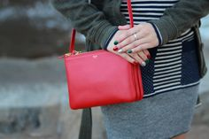 Small lipstick red Celine trio | Bag Love. | Pinterest | Celine ...