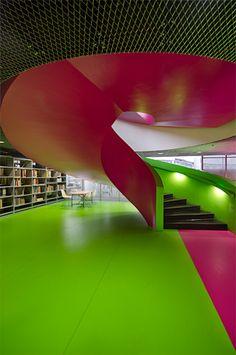 BTU Bibliothek Cottbus :: Herzog & de Meuron Architekten :: 2004