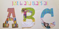 just b. and that's all Alphabet Laminated Wall Letters Hand Painted Walls, Hand Painted Canvas, Letter Set, Letter Wall, Art Classroom, Classroom Themes, Teacher Canvas, Laminate Wall, Painting Wooden Letters