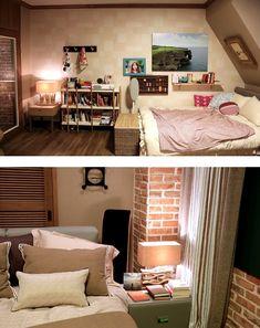 Drama interior-it's okay, it's love peeking the interior ~ -INSIDE Korea JoongAng Daily It's Okay That's Love, Its Okay, Bed, Interior, Room Ideas, Korea, Drama, Movie, Furniture