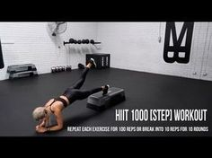 Randomly picking half an hour in the week for HIIT workout is a big mistake. The sessions need to be timed properly. Having a session right after you eat or prior to bed is a bad idea. Step Aerobic Workout, Step Up Workout, Aerobics Workout, Exercise Cardio, Step Ejercicios, Zumba, Exercice Step, Step Aerobics, Home Workouts