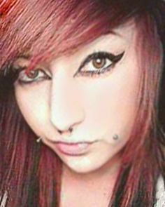 "Missing Girl: Karissa Schell --CA-- 4/21/2011; Hair:  Brown  Eyes:  Brown  Height:  5'6"" (168cm)  Weight:  140lbs (64kg)  She has a pierced septum, a pierced navel, pierced ears, and a pierced cheek. When Karissa was last seen, her hair was dyed a burgundy red color. Her nickname is Rissa.    ANYONE HAVING INFORMATION SHOULD CONTACT  National Center for Missing & Exploited Children  1-800-843-5678 (1-800-THE-LOST)    Turlock Police Department (California) 1-209-668-5550"
