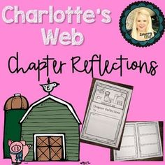 This is a simple booklet for students to use while reading Charlotte's Web. There are boxes for each chapter in the book. Students can reflect on each chapter after reading. Check-out the preview for an example.