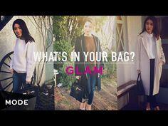 落ち着きのある上品なかばん。黒とゴールドの美しきバーキンの中身は?/What's In Your Bag Mode x 大口智恵美 - YouTube