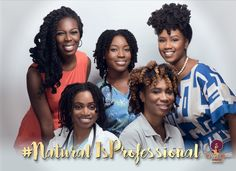 Career Women Rock Their Natural Hair Proudly in the #NaturalisProfessional Campaign - COLOURES | Celebrating Beauty of All Shapes and Shades