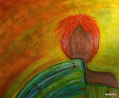Kom binnen in de Kunstgalerie van Marl.Decoratieve schilderijen: Inventation