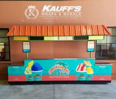 Check out this fabulous new cart wrap we did for @bahamabucks! Stop by Roger Dean Stadium for one of their delicious treats! #KauffsWrapsandMurals #Vinyl #Advertise #Wraps #yum #KauffsSocialMedia #SteveKauff