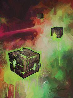 Star Trek Borg, Star Trek Starships, Bye Bye, Robot, Painting, Art, Art Background, Painting Art, Kunst