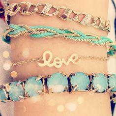 Blue, gold, love
