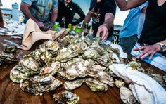 Nothing says Lowcountry like a fresh batch of oysters. Host an Oyster Roast at your next corporate meeting or special event. {Photo By Coleman Photography LLC} Contact our group sales team today to start planning your Lowcountry experience: http://www.wilddunes.com/charleston-corporate-retreats.php?utm_source=social&utm_medium=social&utm_campaign=meetinwild