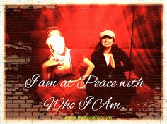 """""""I am at Peace with Who I Am."""" Say this mantra when you have a moment of low esteem. It will bring back your confidence, and most importantly, your self acceptance. Self Acceptance, Whisper, Mantra, Favorite Quotes, Confidence, Bring It On, Wisdom, Peace, In This Moment"""