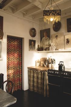 We both love a beaded door curtain. This one is a bit of a beast mid century one. It weighs a tope and is. Estilo Interior, Home Interior, Interior Design Kitchen, Interior Styling, Interior Decorating, Bohemian Interior, Gypsy Decorating, Interior Office, Decorating Tips