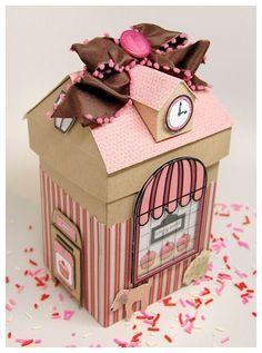 Cupcake explosion box