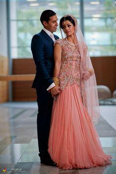 http://weddingstoryz.blogspot.in/ Indian Weddings Desi Weddings Bride makeup jewelry lehenga Beautiful South Asian Brides