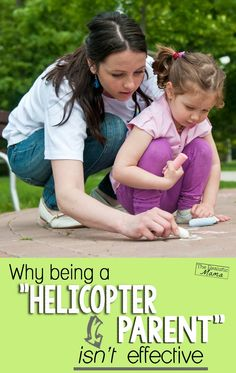 Great read for everyone! The day I realized we were helicopter parents -- 3 challenges to land those choppers!