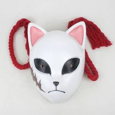 Cosplay Outfits, Cosplay Costumes, Mascara Oni, Fox Mask, Masks Art, Shadowrun, Demon Slayer, Halloween Cosplay, Latex