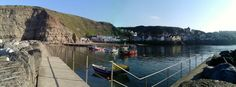 Staithes Harbour...