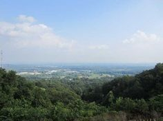 View from Floyds Knobs, IN