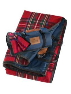 Pendleton Woolen Mills: ROLL-UP BLANKET: stash one in the trunk for anything from impromptu roadside picnics to beach parties