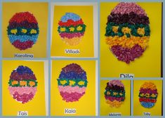 paasknutsel kleuter | The Beehive Buzz: Easter Egg Crafts