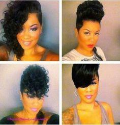 ***Try Hair Trigger Growth Elixir*** ========================= {Grow Lust Worthy… Dope Hairstyles, My Hairstyle, Weave Hairstyles, Asymmetrical Hairstyles, Black Hairstyles, Woman Hairstyles, Creative Hairstyles, Pixie Hairstyles, Love Hair