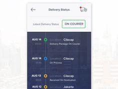 delivery ui - Google 검색