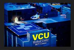 Virginia Commonwealth University (VCU) Medical Center, formally MCV Hospital, Richmond, Va.