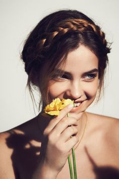 barbara palvin, model, and flowers 이미지 Barbara Palvin, Poses Photo, Francisco Lachowski, Editorial Hair, Img Models, Julia, Hair Today, Alexa Chung, Pretty Face