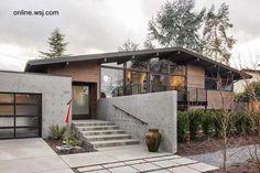 Arquitectura de Casas: Casas modernistas Mid Century en los Estados Unidos.
