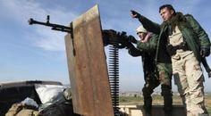 Kurdos lanzan cohetes contra Estado Islámico en Mosul