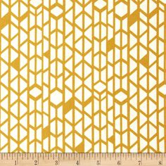 Art Gallery Arizona Canyon Wall Mustard from @fabricdotcom%0A%0ADesigned by April Rhodes for Art Gallery Fabrics, this cotton print is perfect for quilting, apparel and home decor accents.  Colors include mustard and white.  Art Gallery Fabric features 200 thread count of finely woven cotton.