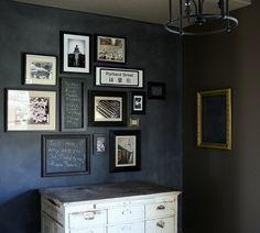 Chalkboard Paint Room Ideas Google Search Blackboard Wall Framed