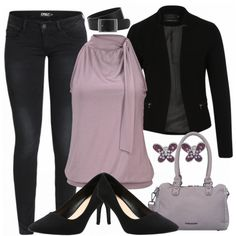 Business Outfits: lilacabutterfly bei FrauenOutfits.de