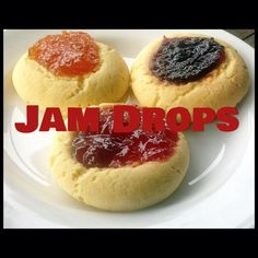 Jam Drops and living with 5 girls (Thermomix Method Included)