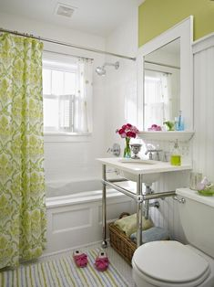 A way to add a small counter on an older sink or add storage above a pedestal sink.