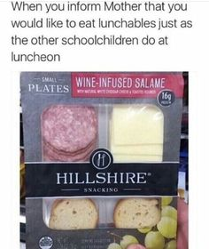 I never ate lunchables as a kid