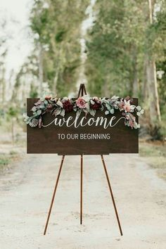 Wedding Welcome Sign - Wedding Signs - Acrylic Wedding Sign - Lucite Wedding Sign - Wedding Signs - Acrylic Wedding Signs - Acrylic Wedding Signs -c 30 fantastic floral wedding decorations that wowFloral wedding Fall Wedding, Dream Wedding, Elegant Wedding, Trendy Wedding, Wedding Country, Romantic Weddings, Perfect Wedding, Casual Wedding, Cheap Wedding Ideas