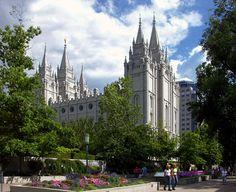 Salt Lake Temple - Salt Lake City, Utah