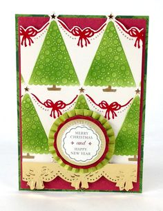 © Anna Griffin, Inc. Christmas Embossing Folders