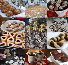 Fursecuri de Craciun Just Desserts, Biscotti, Christmas Cookies, Gem, Cereal, Food And Drink, Homemade, Breakfast, Dinners
