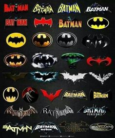 evolution of batman logo - Google Search