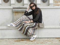 #longskirt #skirt #ootd #look #fashion #moda