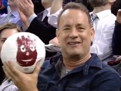 Tom Hanks Reunited With Wilson - the world is not such a bad place!