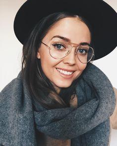 hat + scarf + glasses // jestem_kasia