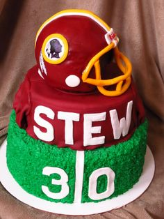 great looking Redskins birthday cake | The Sweetest Things ...