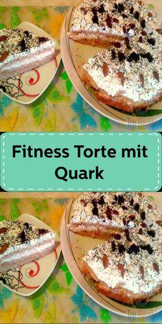 Fitness Torte mit Quark Stevia, Ricotta, Hummus, Tacos, Fitness, Ethnic Recipes, Food, Rice Flour, Yogurt
