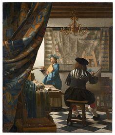 Jan Vermeer - The Art of Painting - Google Art Project (Kunsthistorisches Museum, Vienna)