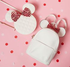 These New Primark Mickey and Minnie Mouse Bags are to Die For Cute Mini Backpacks, Stylish Backpacks, Kids Backpacks, Disney Handbags, Disney Purse, Disney Disney, Primark, Cute Purses, Purses And Bags